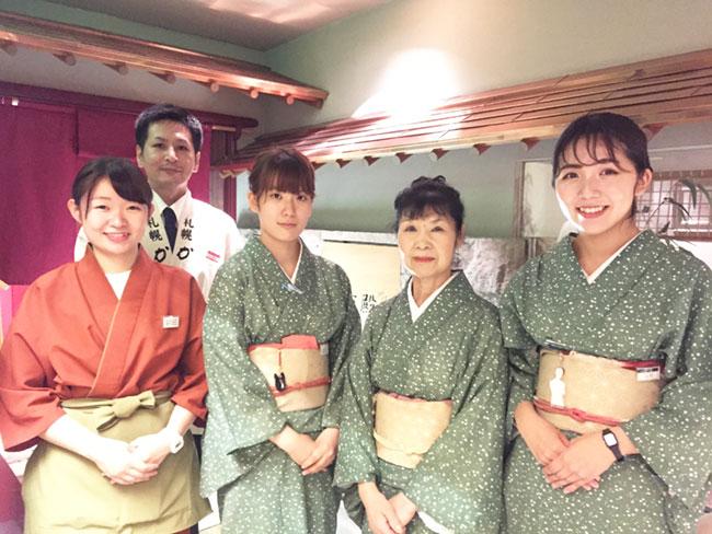 札幌 かに家 本店のアルバイト情報
