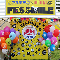 アルキタ × FM NORTH WAVE FES SMILE in JOIN ALIVE